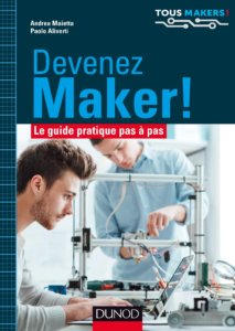 image livre Devenez maker!